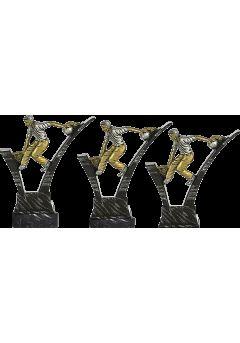 Trofeo de Bolos soporte mármol negro