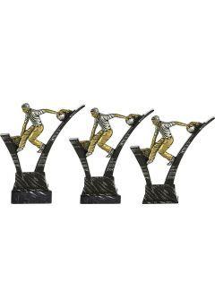 Trofeo de Bolos soporte mármol negro Thumb
