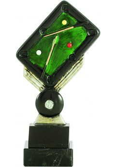 Trofeo de mesa billar resina Thumb