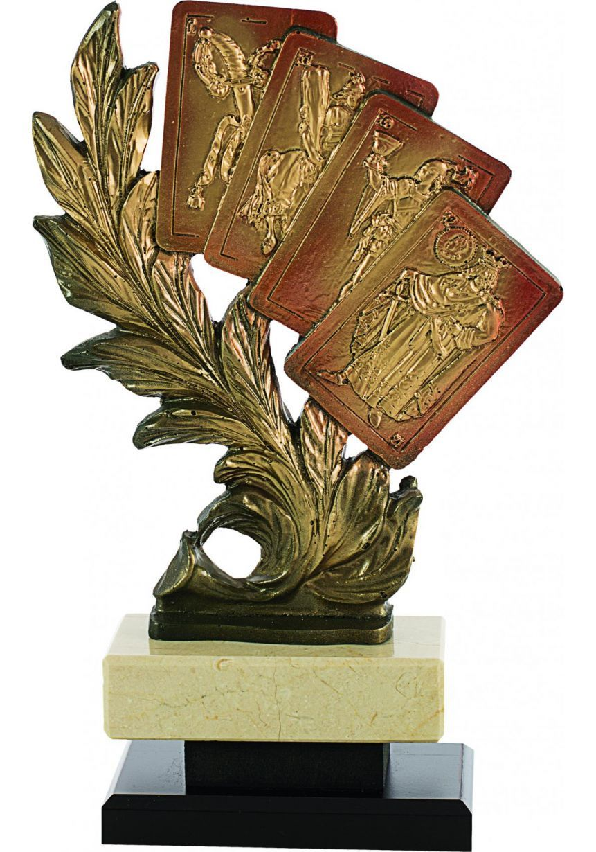 Trofeo figura laurel 4 Cartas