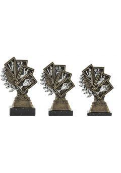 Trofeo figura laurel 4 Cartas Thumb