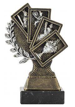 Trofeo figura laurel 4 Cartas