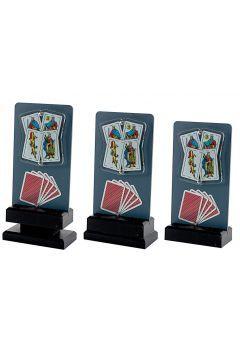 Trofeo de Cartas con detalle Thumb
