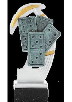 domino soporte marmol negro 11