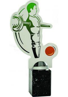 Trofeo de futbolín con figura muñeco Thumb