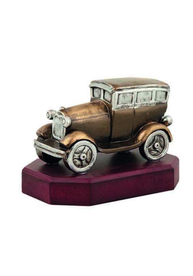 Trofeo figura coche clásico charleston