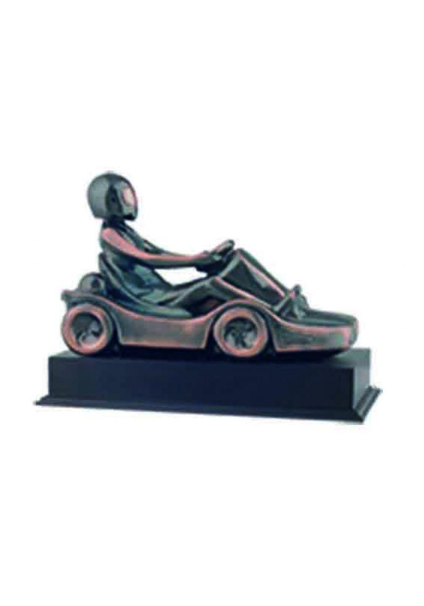 Figura coche de karting