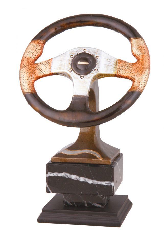 Trofeo de coches con volante de competición