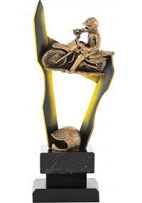Trofeo de motos doble