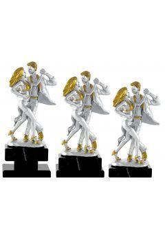 Trofeo figura con la silueta de 2 bailarines Thumb