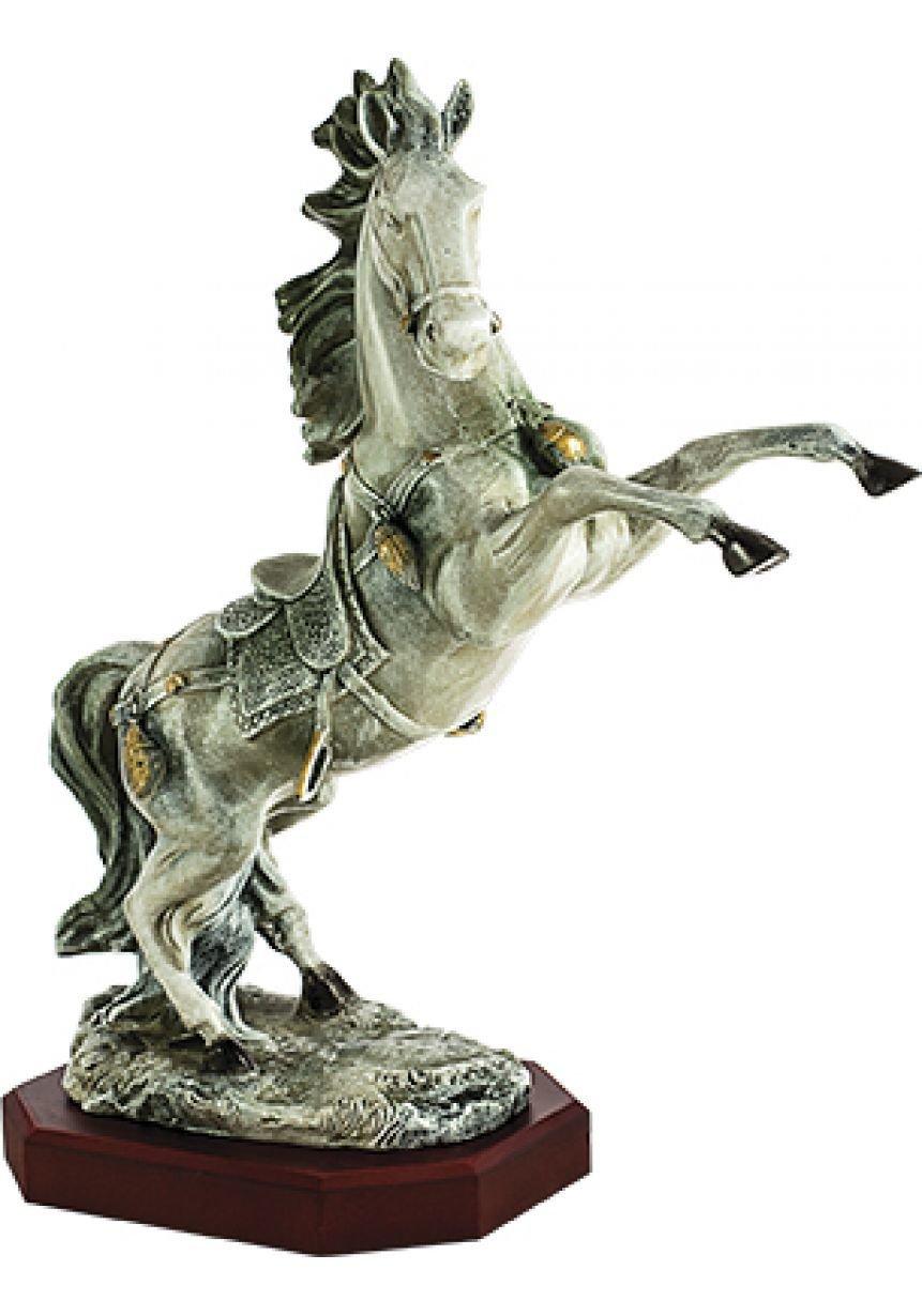 Trofeo de caballo con figura