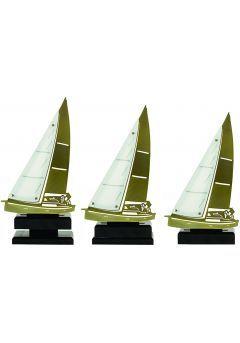 Trofeo de vela metal y madera Thumb