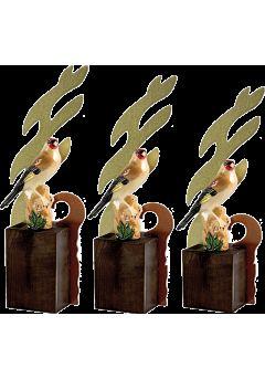 Trofeo onda pájaro