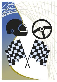 Trofeo de cristal cuerpo prisma detalle azul aplique color deportivo base cristal Thumb