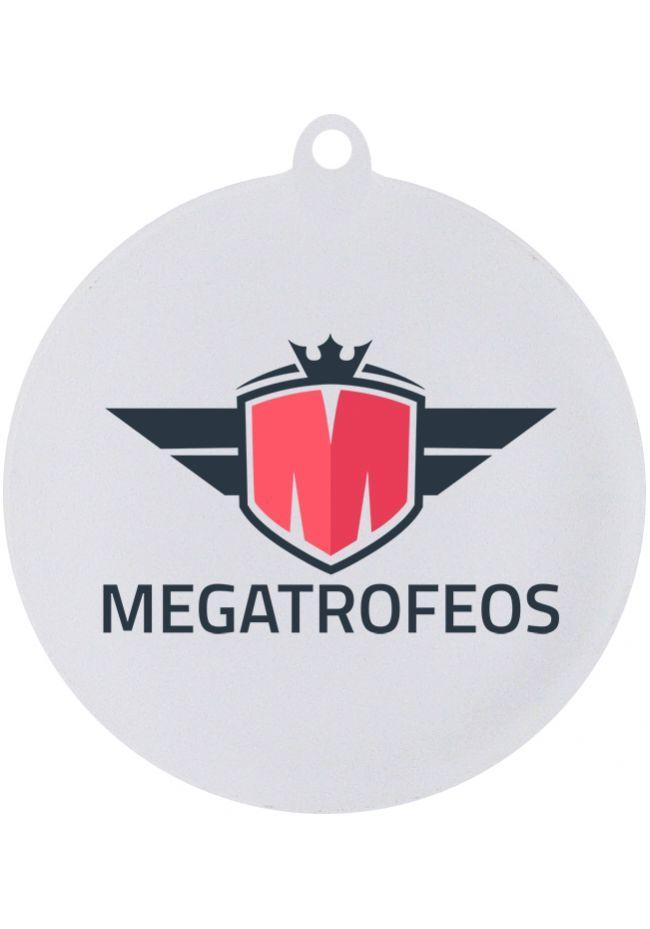Medalla metacrilato con su propio logo o imagen