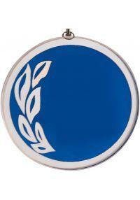 Medalla cristal de 70 mm diámetro-1