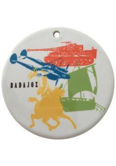 Medalla cerámica sublimación color de 70 mm Thumb