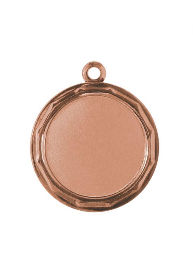 Medalla deportiva de 34mm portadiscos para niños