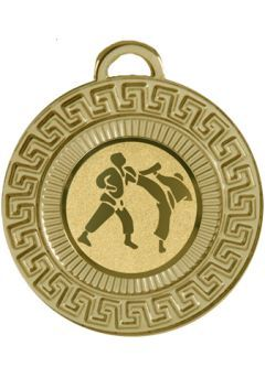 Medalla estilo azteca de 50 mm  Thumb