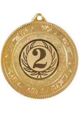 medalla segundo puesto