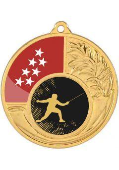 Medalla alegórica 50 mm diámetro opción comunidad autónoma-2