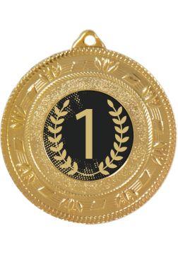 medalla alegorica portadiscos numero 1