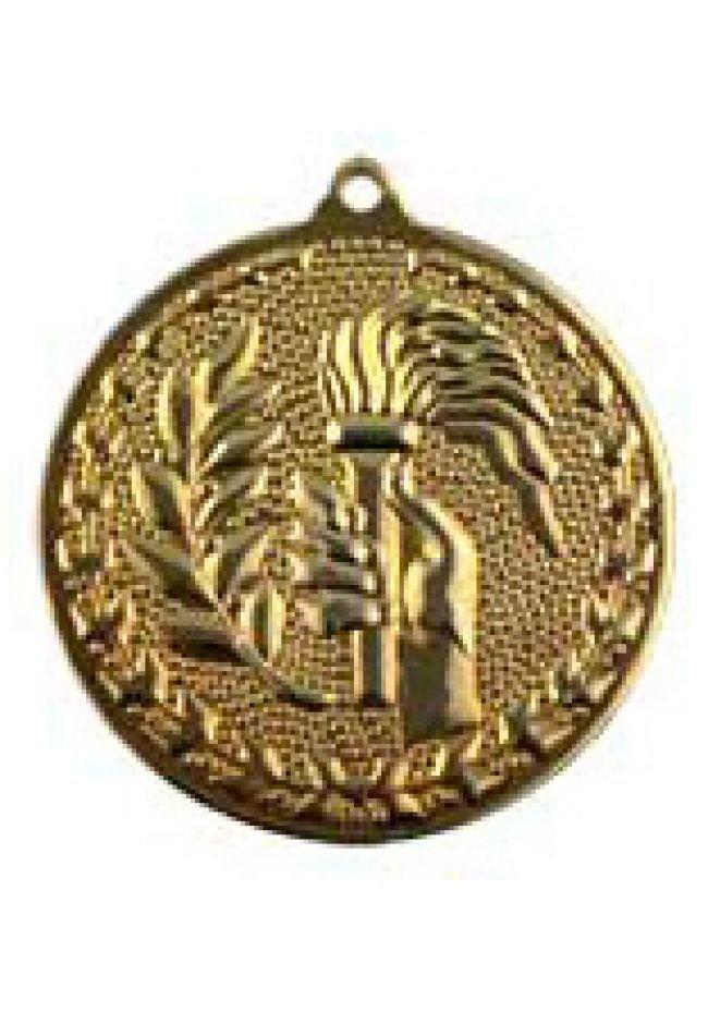 Medalla de alegórica en relieve alto de 50mm