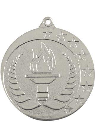 Medalla alegórica en relieve alto CO2