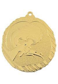 Allegoric medal in high relief CO2