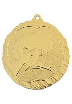 Medalla alegórica en relieve alto -1