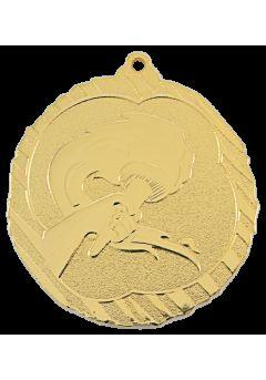 medalla alegorica en relieve alto co2 29