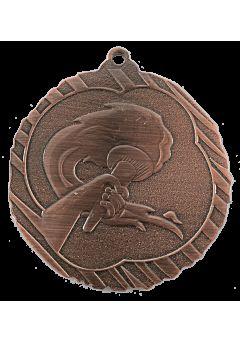 Medalla alegórica en relieve alto
