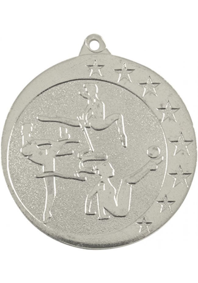 Medalla de gimnasia en relieve alto CO2