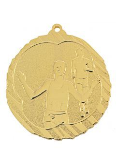 Medalla de atletismo-cross en relieve alto  Thumb