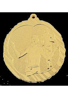 medalla de atletismo cross en relieve alto co2 31