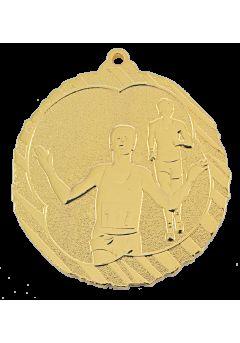 medalla de atletismo cross en relieve alto co2 31
