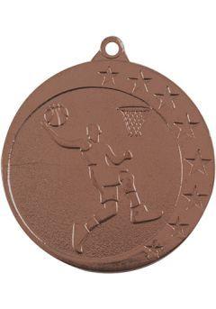 Medalla de baloncesto en relieve alto CO2 Thumb
