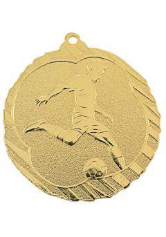 Medalla de fútbol en relieve alto-1