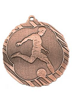 Medalla de fútbol en relieve alto Thumb