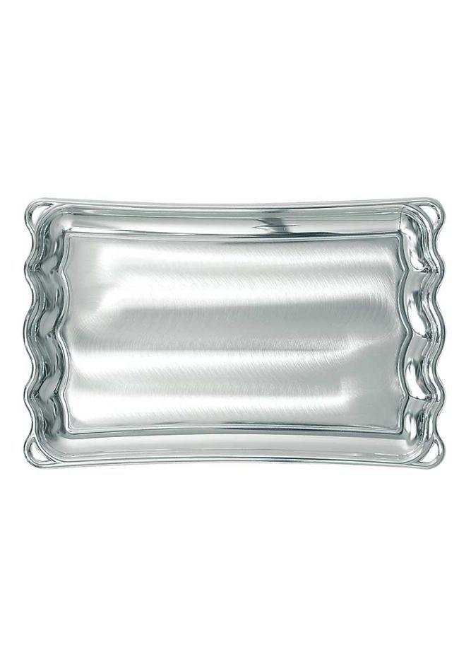 Bandeja aluminio con forma rectangular sublimación
