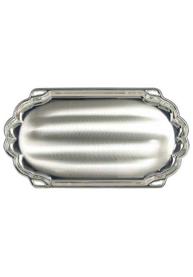 Bandeja aluminio ovalada
