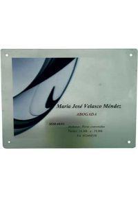 Methacrylate Platte rechteckigen Außenfarbe