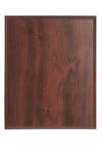 Support walnut finish wood plates