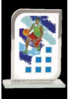 Trofeo cristal para eventos deportivos