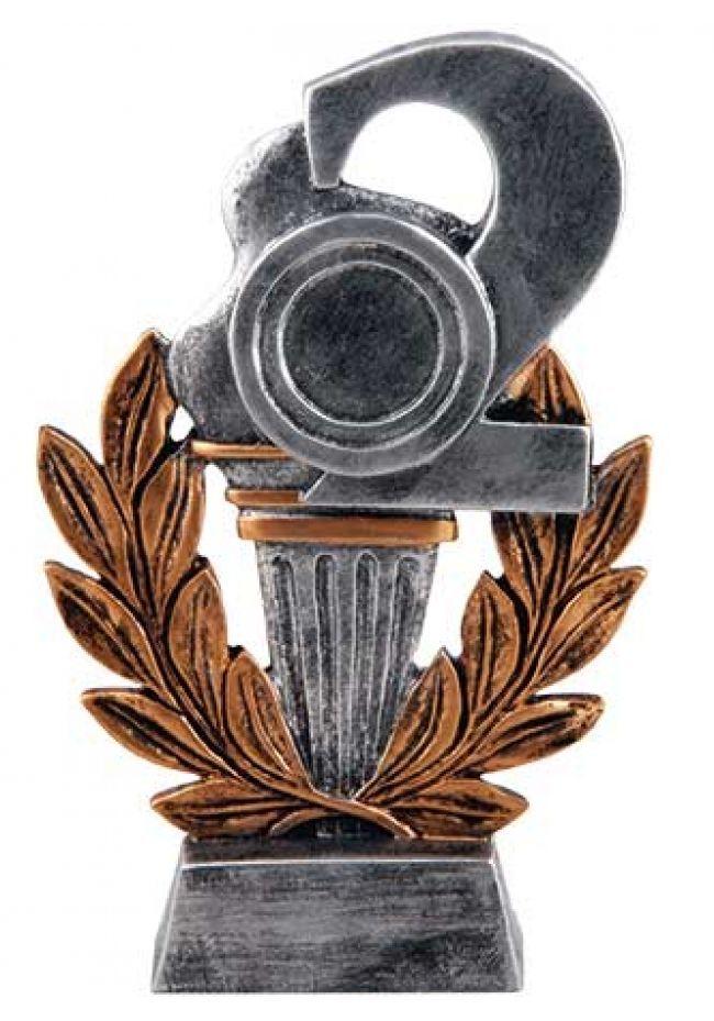 Trofeo para premios antorcha dorado nº2