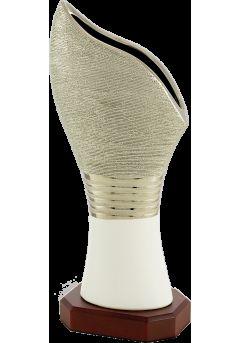 trofeo jarron ceramica biselado 8