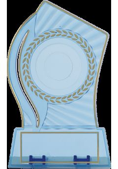 Sports trophy disc holder