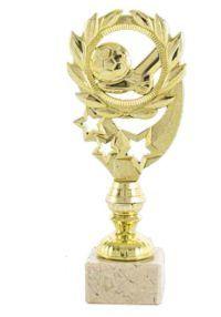 Trofeo alegórico fútbol