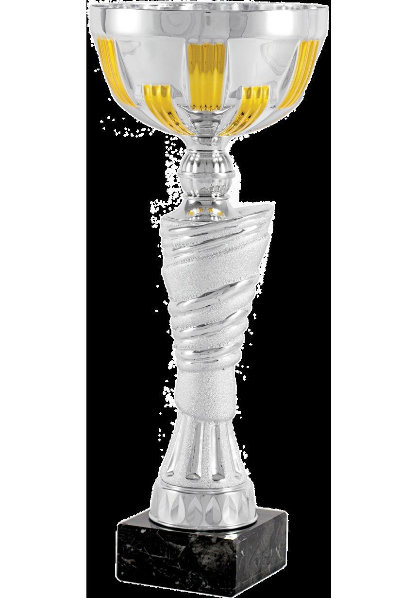 Trofeo copa balón dorado-plata
