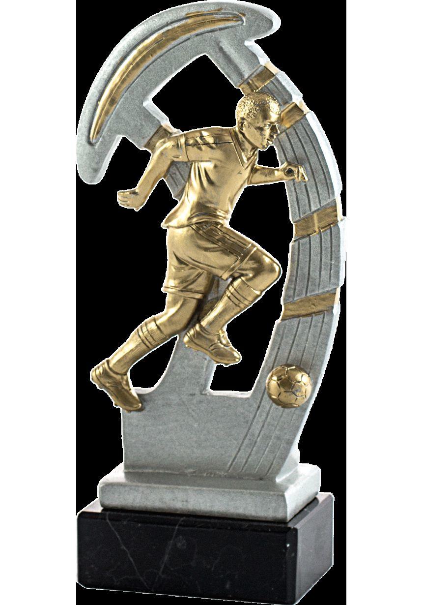 Trofeo de resina deportivo de futbol